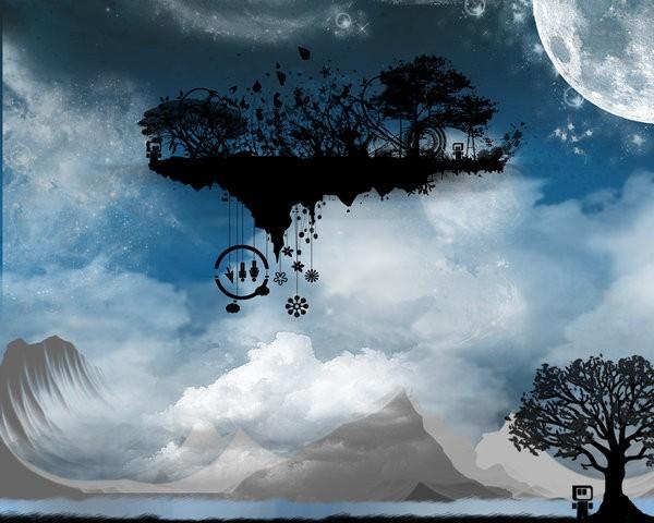 Armoniose vie si narra di for Paesaggi fantasy immagini